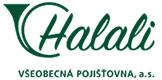 Logo pojišťovny Halali